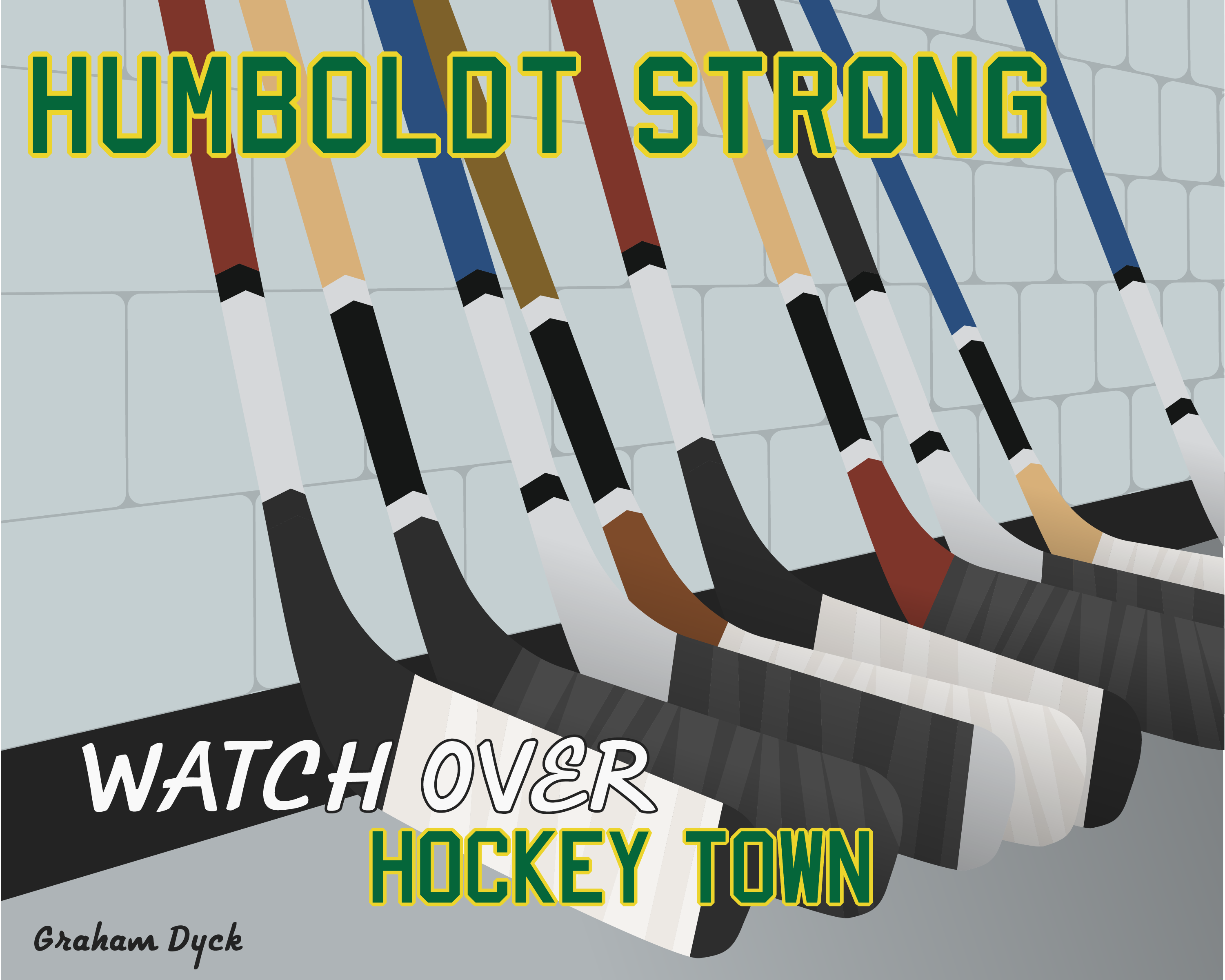 Humboldt Strong Watch Over Hockey Town